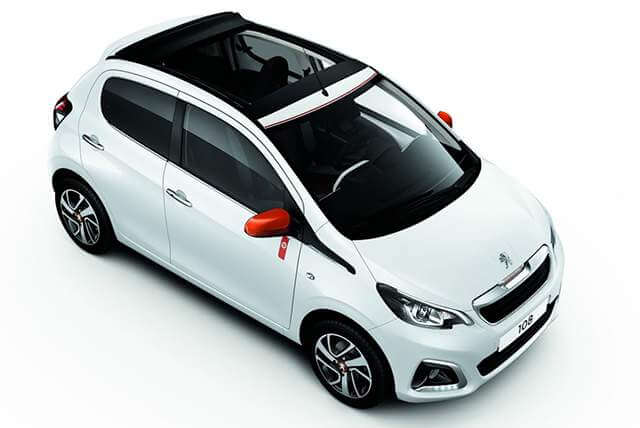 Peugeot 108 Open Top Automatic
